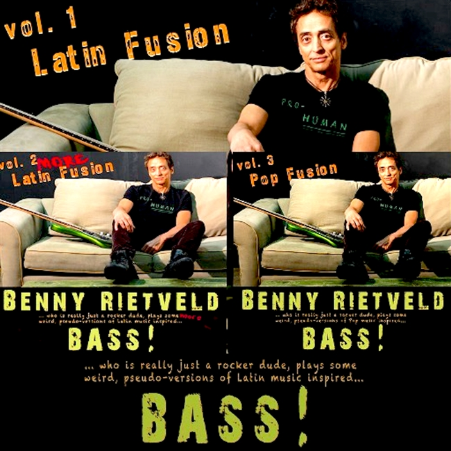 Benny Rietveld Bass Fusion Bundle Vol. 1, 2 & 3