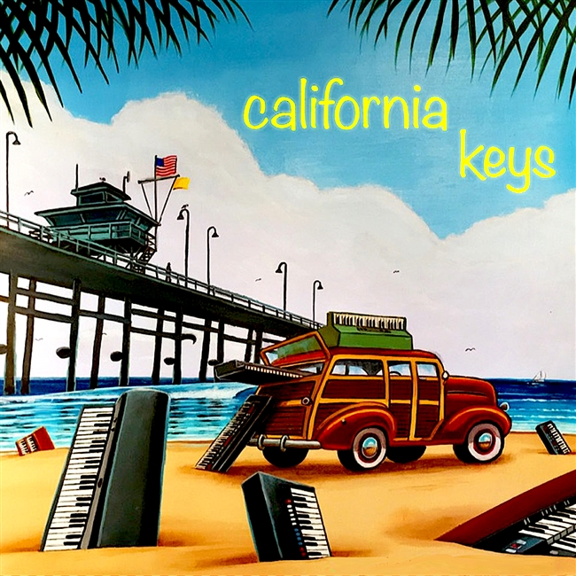 California Keys, NKS Kontrol, Kontakt, Vintage samples,